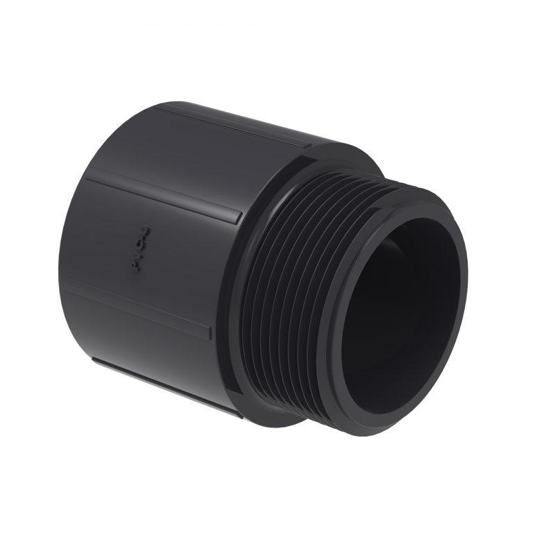ADAPTADOR CURTO LR PVC U SCH80